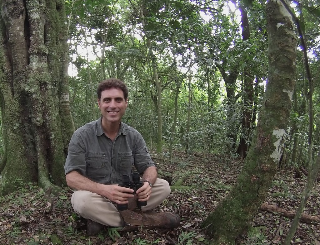GHI Associate Director Tony Goldberg's work takes him to Uganda, where he studies the biology and the interactions between non-human primates and humans to help determine how diseases spread in an effort to prevent the next epidemic.