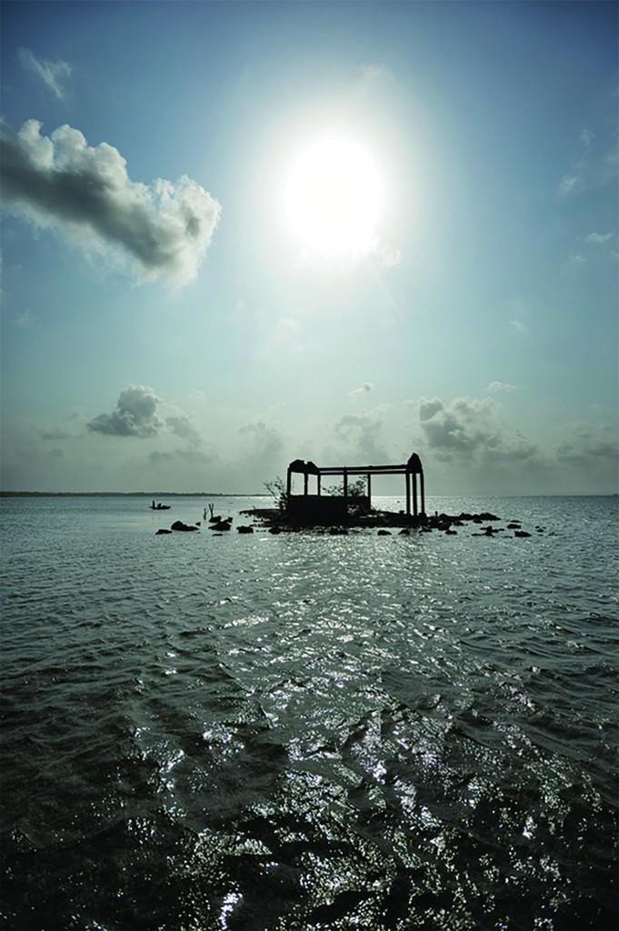 Sea levels are rising in Gunayala, Panama, driving indigenous families from their homes. (Photo by Kadir van Lohuizen)