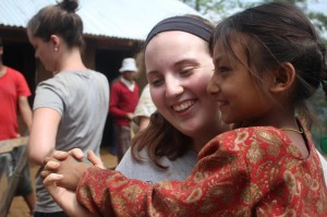 UW-Madison undergraduate student Rebecca LeBeau learns to love international learning in Nepal.