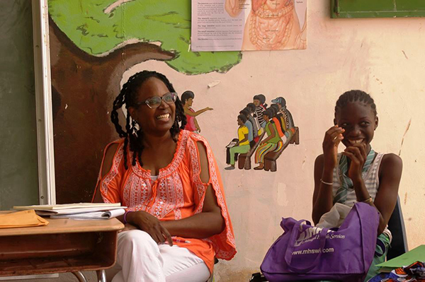 Education is key to helping girls in The Gambia face social and health challenges.