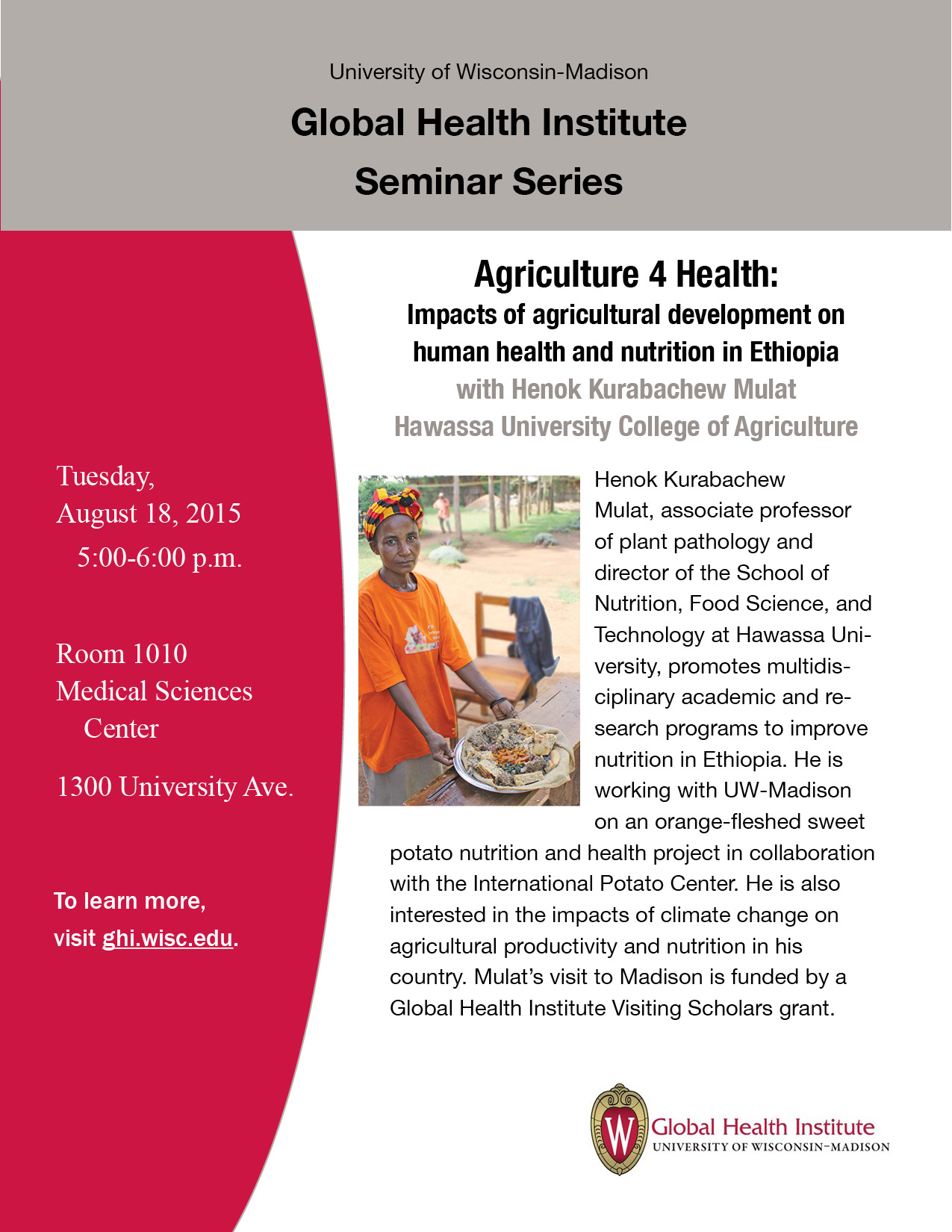 Agriculture 4 Health: Impacts of agricultural development on