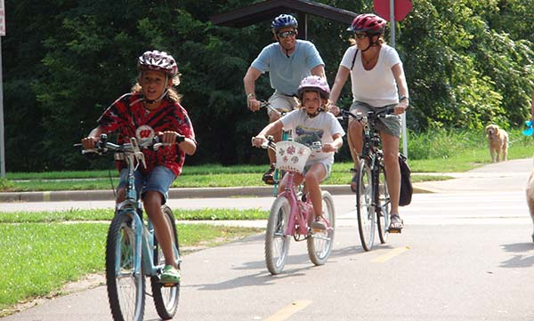 Bicycling deaths decreased by 92 percent for children younger than 15.