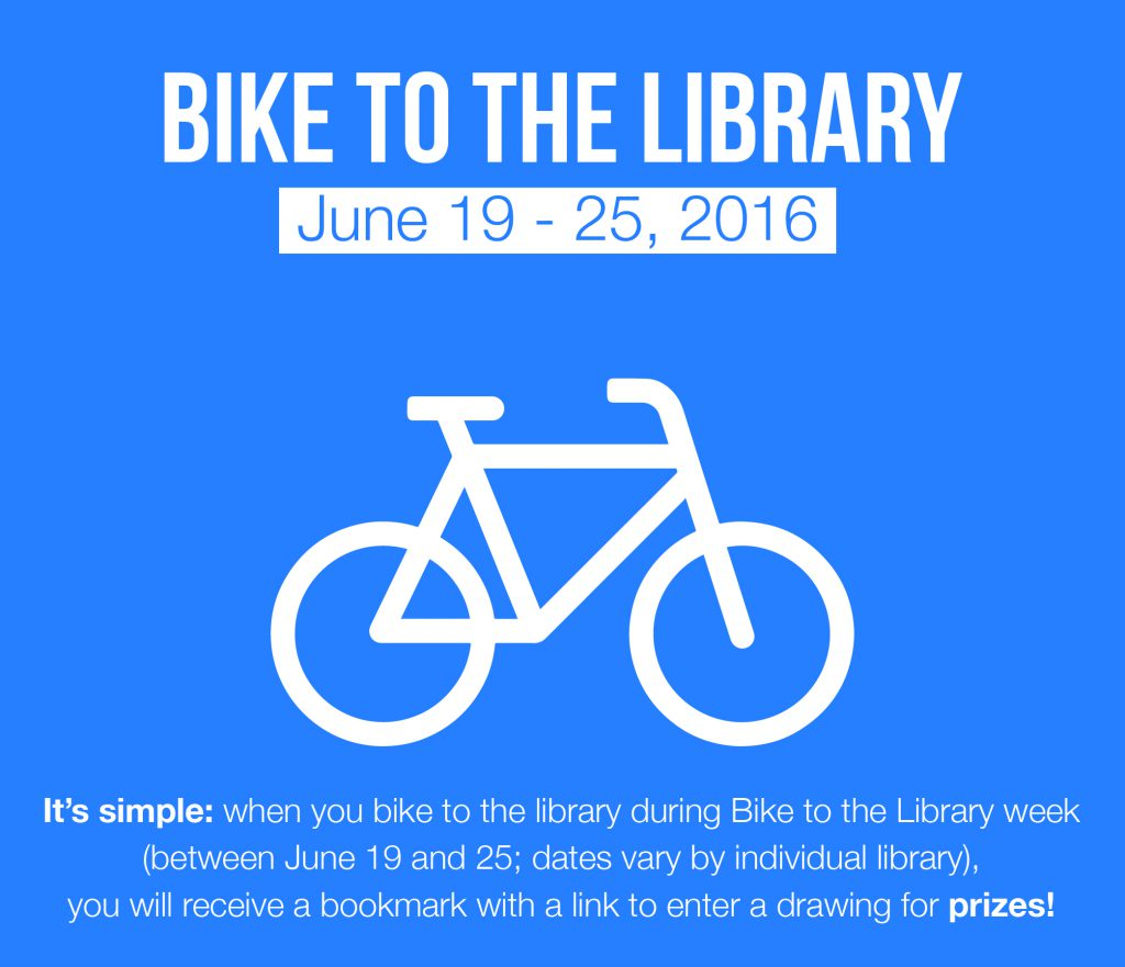 bike to the library